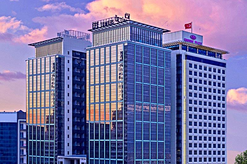 İş dünyası için Limitsiz ofisler: Efe Towers