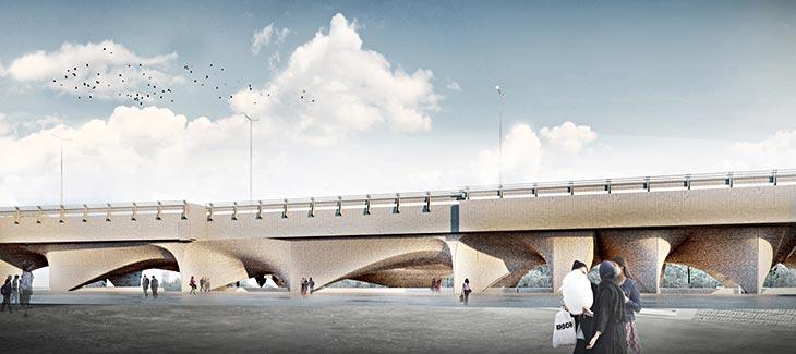 Köprü altı müzeye dönüştürüldü