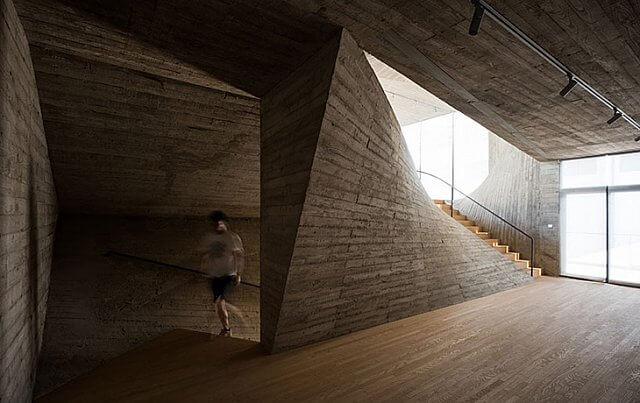 Betonla yaratılan muhteşem geometri