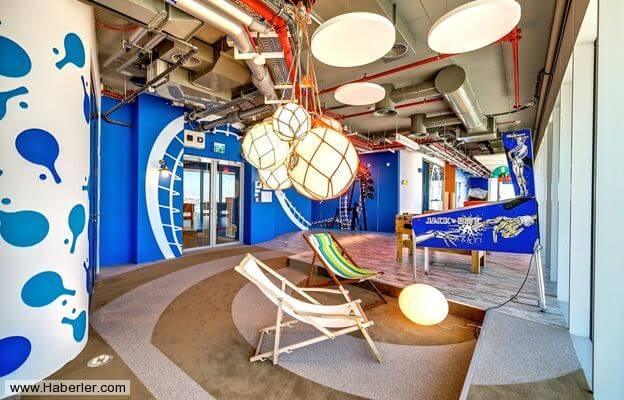 Dünyaca ünlü arama motoru Google'ın sıradışı ofisleri!