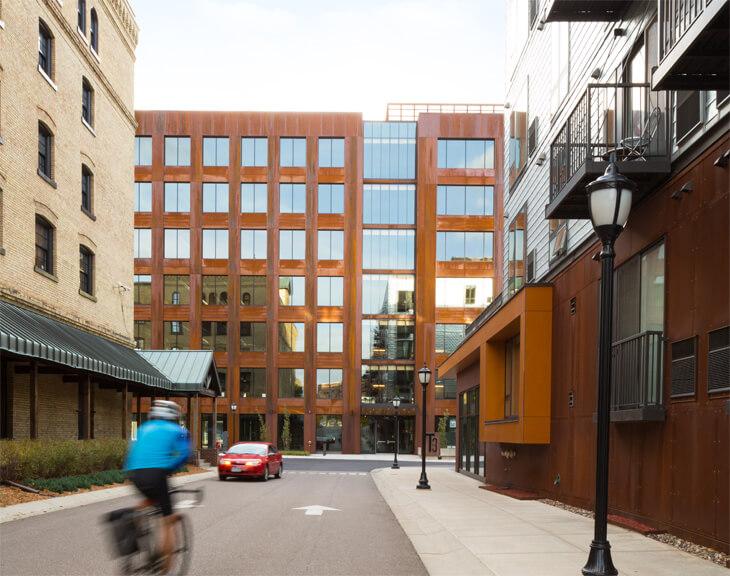Kuzey Amerika'nın en büyük ahşap binası: T3 Minneapolis
