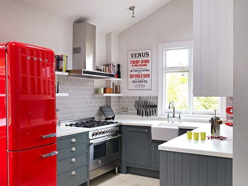 Mutfaklarda retro modası