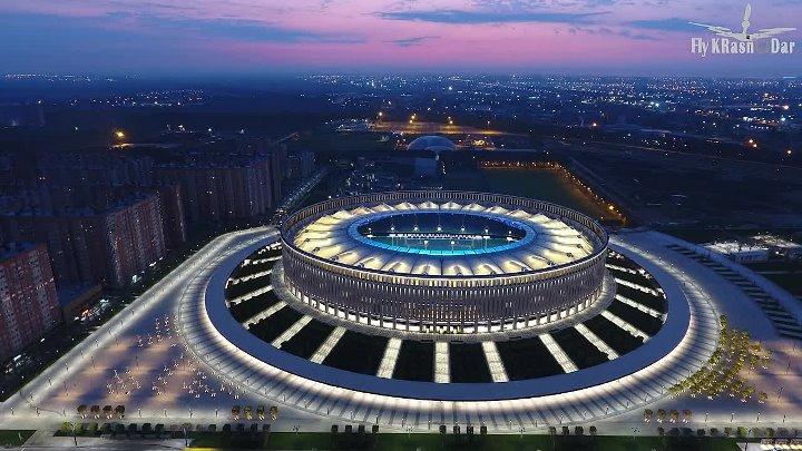 Rusya'da bir stadyuma Türk imzası