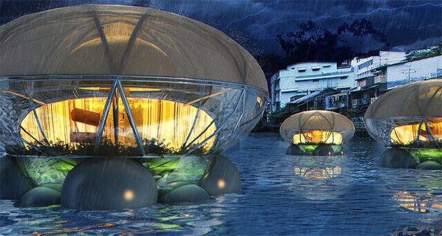 Suyu temizleyen 'Denizanası Evi'