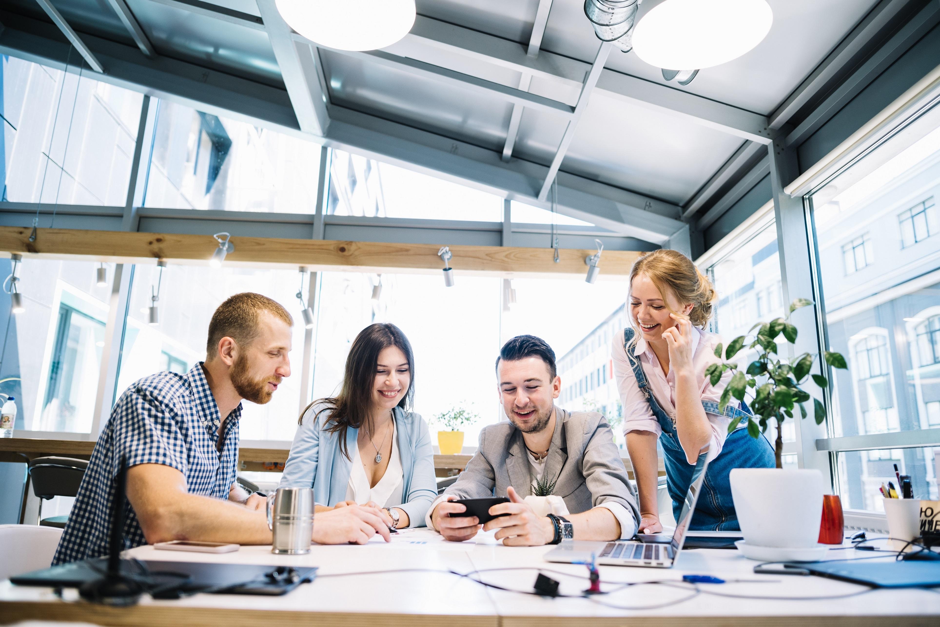 Kurum kültürü ve iyi tasarlanmış ofis yetenekli  çalışanları çekiyor