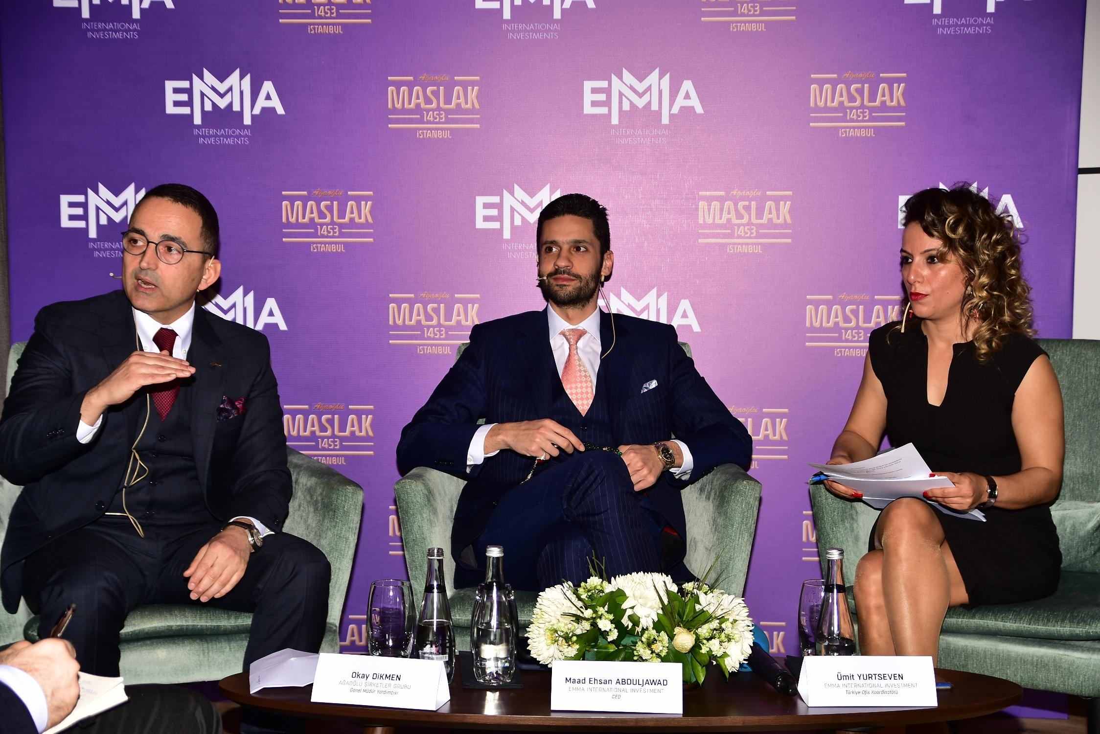 Uluslararası yatırımcı Emma, yatırımını topraktan yaptı.