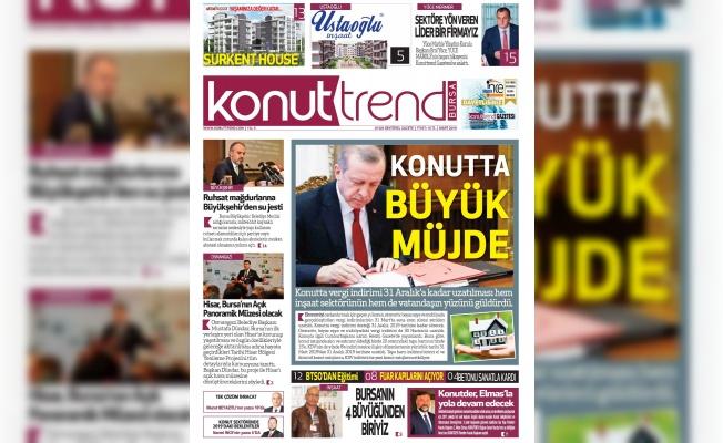 Konuttrend Gazetesi Mart Sayısı Çıktı