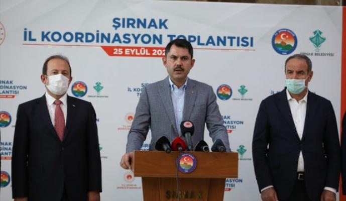 Murat Kurum: 5 yıl içinde 1,5 milyon konut dönüştüreceğiz