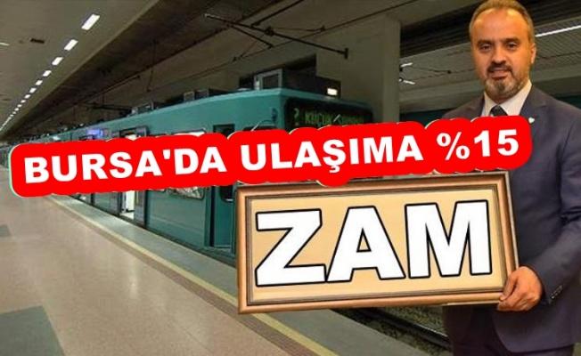 BURSA'DAKİ ULAŞIM ZAMINA HALK TEPKİLİ!