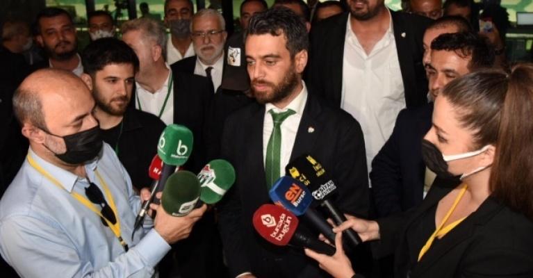 """İşte Emin Adanur'un ilk sözleri: """"Hedef Süper lig"""""""