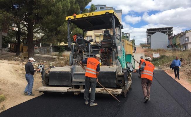 Osmangazi'de Asfaltsız Sokak Kalmıyor