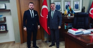 MHP GENEL SEKRETERİ İSMET BÜYÜKATAMAN'A İNCE ZİYARET