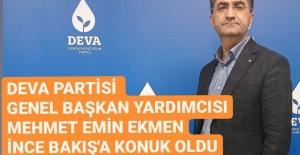 MEHMET EMİN EKMEN İNCE BAKIŞ#039;A...