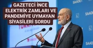 NECMİ İNCE'NİN SORUSU GÜNDEMİ BELİRLEDİ
